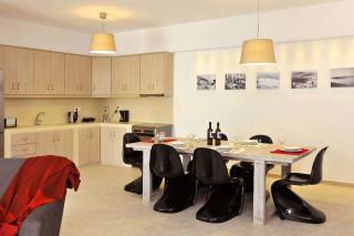 kitchen in Ammos villa