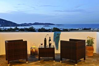 Asterias balcony