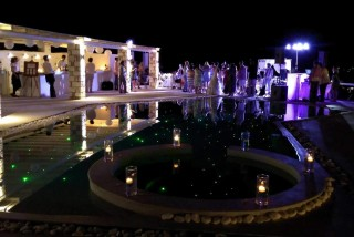 Wedding night at Blue Mare Villas