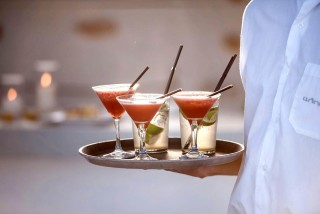 Enjoy a drink in our villas