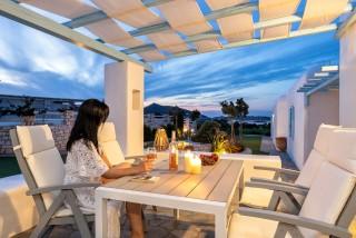 villa thalassa blue mare veranda