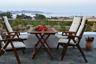 Balcony view Vrachos villa